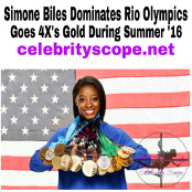 Simone Biles Gymnast First Woman Ever to Be All-Around World Champion Three Consecutive Years